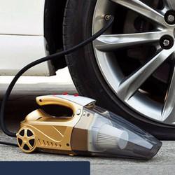 Máy hút bụi ô tô 5in1 bánh xe