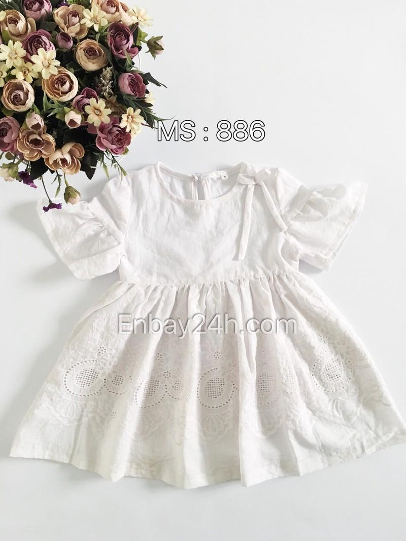 Váy đầm bé gái 886 2