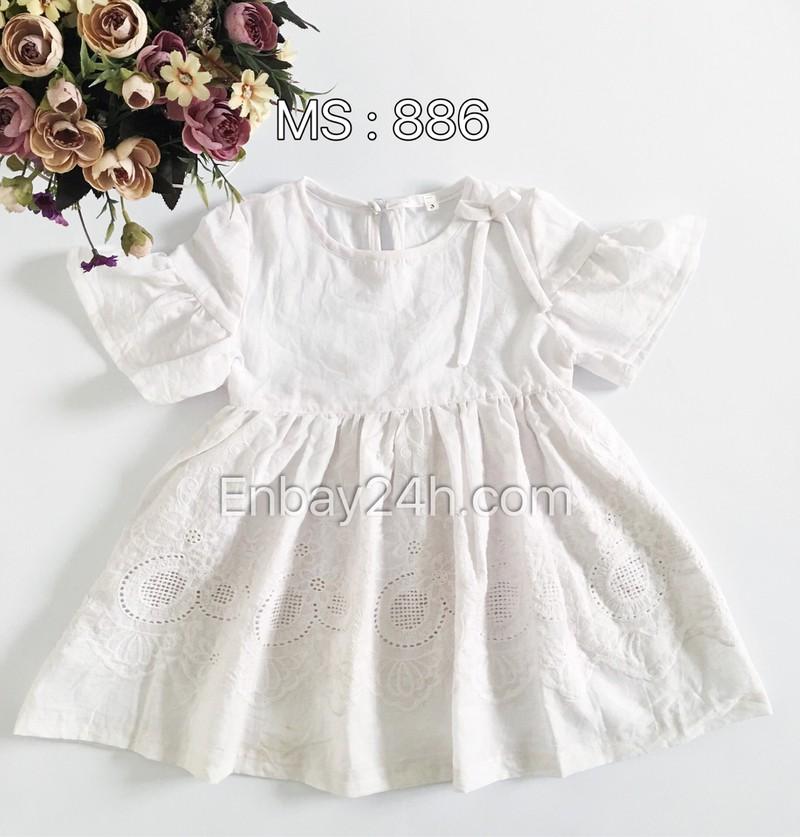 Váy đầm bé gái 886 1