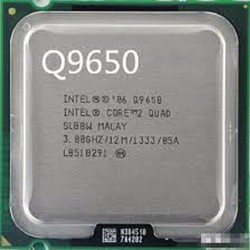 intel q9650 core 2 quad cu