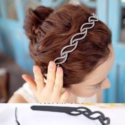 ctxkt30 cài tóc nữ đính đá lấp lánh, phong cách Hàn Quốc