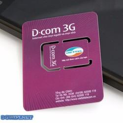 Sim 3G cho đt ipad của Viettel 6 tháng không cần nạp tiền