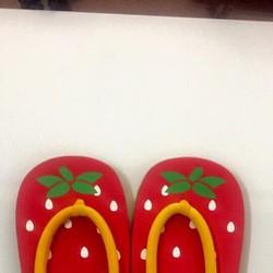 Dép cặp hình trái cây dễ thương cho Mẹ và Bé