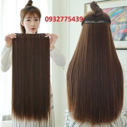 Tóc giả kẹp thẳng dài