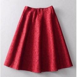 Chân váy ren xốp phồng xếp ly cao cấp Beverley Clay