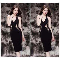 Đầm body cut out thiết kế sexy Ngọc Trinh