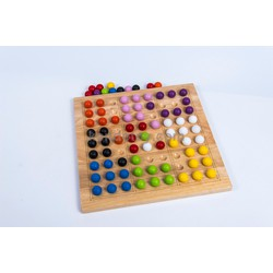Cờ logic   đồ chơi gỗ trí tuệ và an toàn cho bé