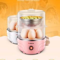 Nồi hấp trứng 2 tầng