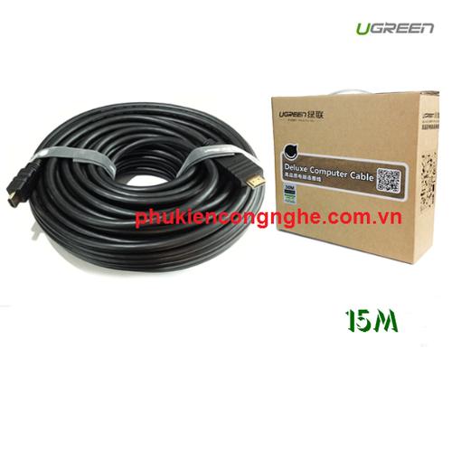 Cáp HDMI 15M Ugreen cao cấp hỗ trợ Ethernet 4K 2K UG-10111 - 4161345 , 4926079 , 15_4926079 , 600000 , Cap-HDMI-15M-Ugreen-cao-cap-ho-tro-Ethernet-4K-2K-UG-10111-15_4926079 , sendo.vn , Cáp HDMI 15M Ugreen cao cấp hỗ trợ Ethernet 4K 2K UG-10111