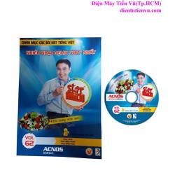 Đĩa DVD Karaoke Acnos mới nhất Vol 62 B + Danh Mục Bài Hát