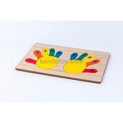 Bàn tay học đếm | đồ chơi trẻ em bằng gỗ