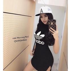 Đầm body ADD tay con _MỎ CHU SHOP