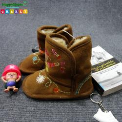 Boot bé gái cao cổ nhung Việt Nam xuất khẩu