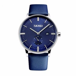 Đồng hồ nam dây da SK738 chính hãng phong cách Retro-chống thấm nước.