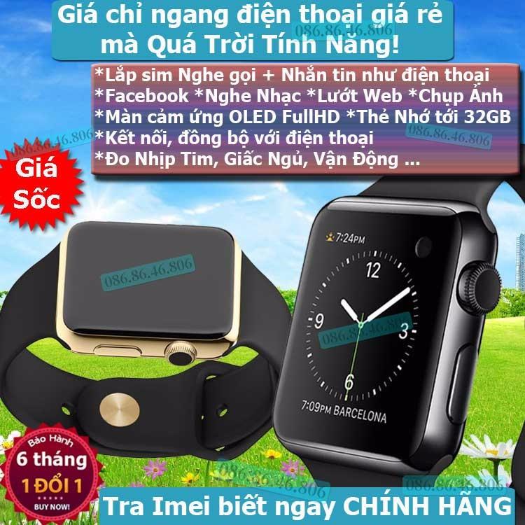 Đồng hồ thông minh Apple watch 1 2