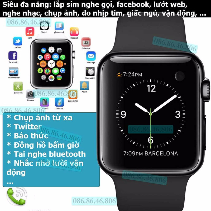 Đồng hồ thông minh Kingwear PRO PLUS SN08 17