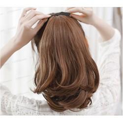 tóc giả cột nửa đầu