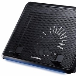 ĐẾ Laptop COOL NÂNG 45 độ-1 FAN LỚN LED -C041
