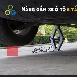 Bộ nâng gầm ô tô 5 tần nguồn 12v