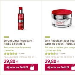 Bộ mỹ phẩm Yves Rocher Serum Fermele chống lão hóa