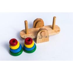 Tháp cân bằng | đồ chơi trẻ em vui học