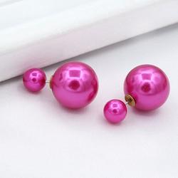 Bông tai xinh xắn BT02 - Màu hồng