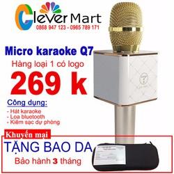 Micro kiêm loa Q7