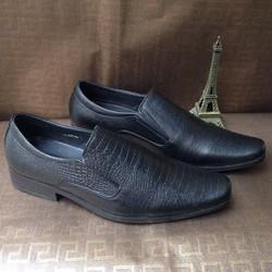 Giày tây nam da bò xịn nguyên tấm vân da rắn 2017