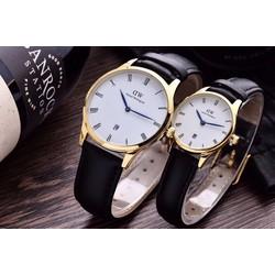 đồng hồ thời trang đôi dây da 311