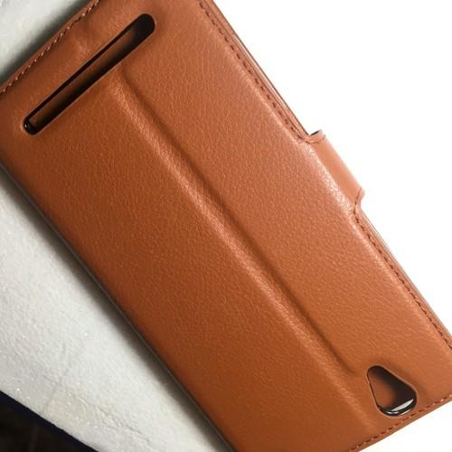 Sony-Xperia T2 T2 Ultra-Bao da Flip Cover có khe để thẻ cho điện thoại