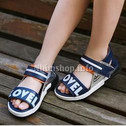 Dép sandal cho bé trai 3 - 12 tuổi QH6