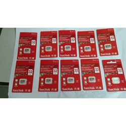Bán Buôn Thẻ nhớ 32G  - Micro SD 32GB