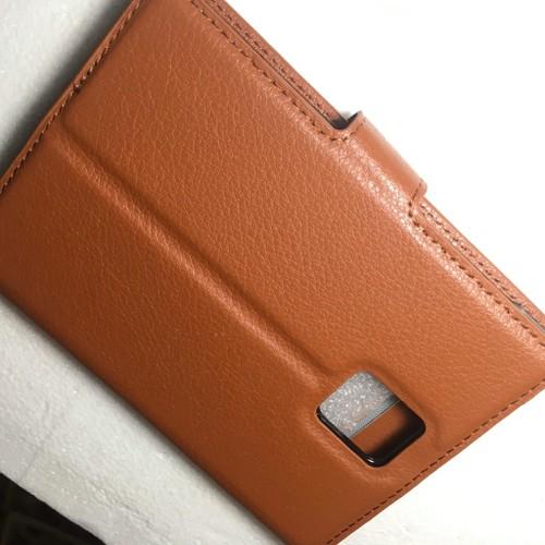 BlackBerry Passport Q30-Bao da Flip Cover có khe để thẻ cho điện thoại