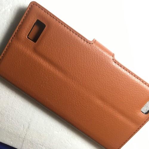BlackBerry Leap - Bao da Flip Cover có khe để thẻ cho điện thoại
