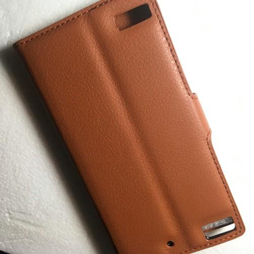 BlackBerry Z3 - Bao da Flip Cover có khe để thẻ cho điện thoại