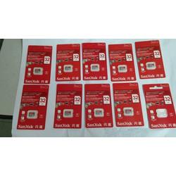 Thẻ nhớ Sandisk 32GB - Class 10 - Sd32gb - SD32gb