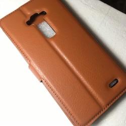LG-G Flex D958 - Bao da Flip Cover có khe để thẻ cho điện thoại