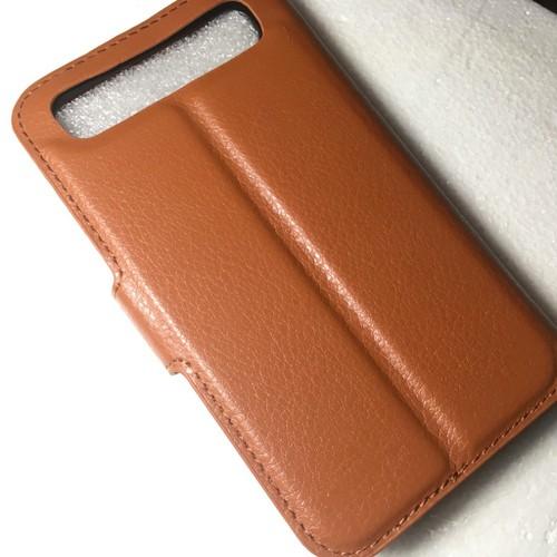 BlackBerry Classic Q20-Bao da Flip Cover có khe để thẻ cho điện thoại