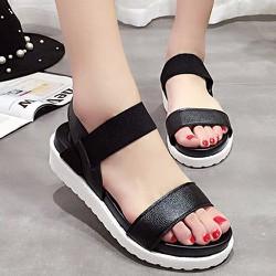 Giày Sandal đế bánh mì s046d -F3979.com