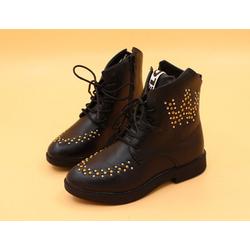 Giày bốt cao cấp Z-34 đen