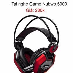 Tai nghe chuyên game Nubwo 5000