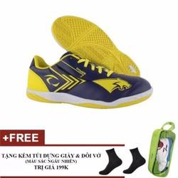 Giày thể thao nam Pan Thái Power Vàng-Xanh