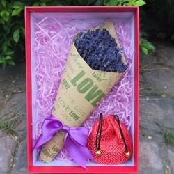 Hộp hoa Lavender HC09