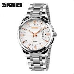 Đồng hồ nam SKMEI 9069 kim vàng viền trắng