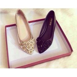 Giày búp bê hoa