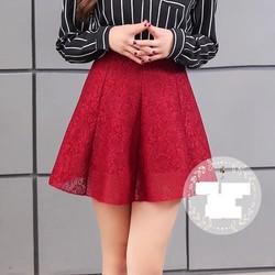 Chân váy ren ngắn hàng nhập