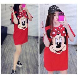 Đầm suông Mickey xinh xắn