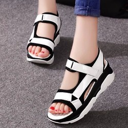 Giày sandal đế bánh mì S047T