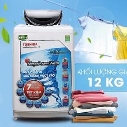 Máy giặt Toshiba12Kg Inverter  cửa trên  AW-DC1300WV