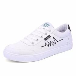 Giày thể thao Sneaker nam sành điệu - Trắng